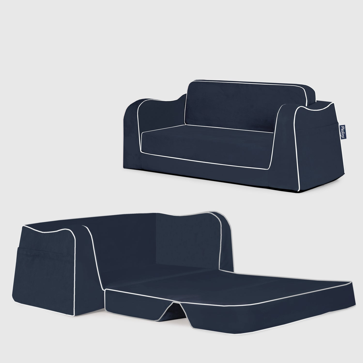 Little Reader Sofa with Fold. New Colors Form P'kolino. Soft Childrens Sofa. Toddler Sofa. Best Toddler Sofa.
