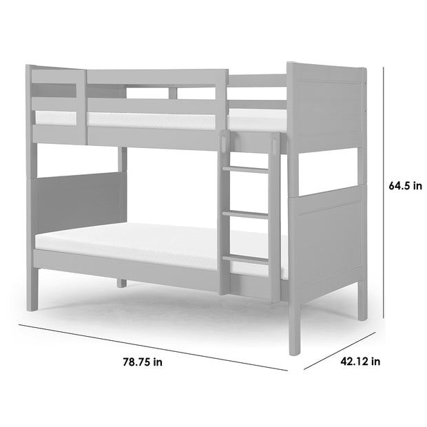 P'kolino Nesto Bunk Bed - Grey