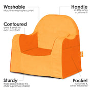 Little Reader Toddler Chair Orange