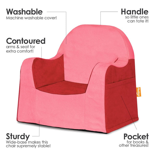 Little Reader Toddler Chair Red