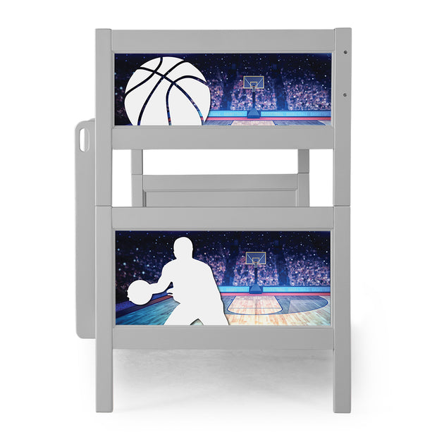 P'kolino Nesto Bunk Bed - Grey - Sports