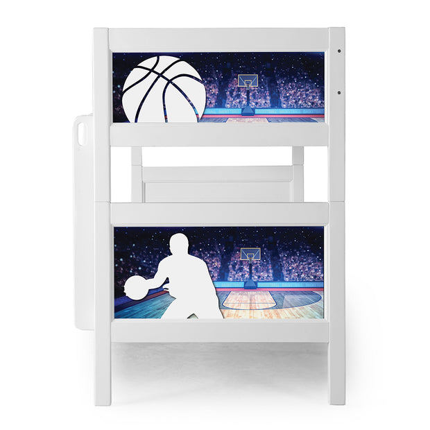P'kolino Nesto Bunk Bed - White - Sports