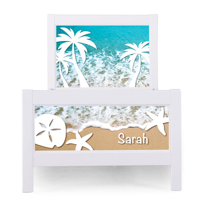 P'kolino Nesto Twin Bed - White - Beach Theme