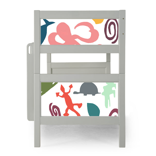 P'kolino Nesto Bunk Bed - Grey - Aquatic Animals