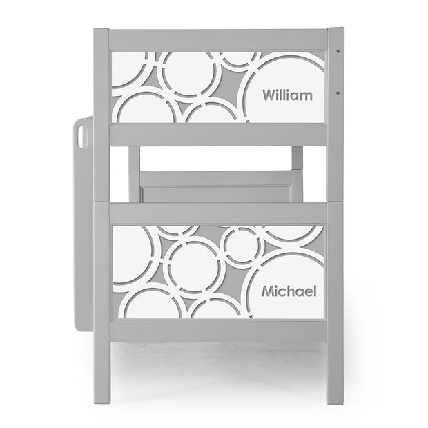 P'kolino Nesto Bunk Bed - Grey - Cerchi