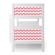 P'kolino Nesto Bunk Bed - White - Chevron