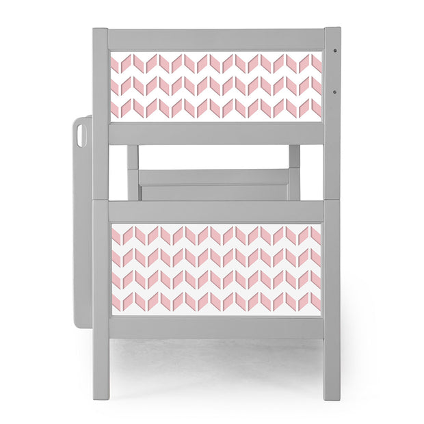 P'kolino Nesto Bunk Bed - Grey - Chevron