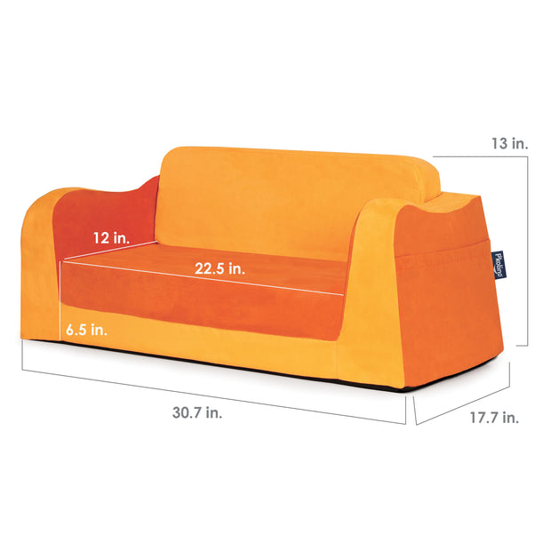 Little Reader Sofa Lounge - Orange