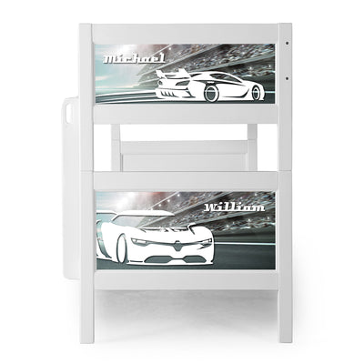 P'kolino Nesto Bunk Bed - Cars