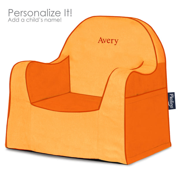 Little Reader Toddler Chair Two Tone Orange
