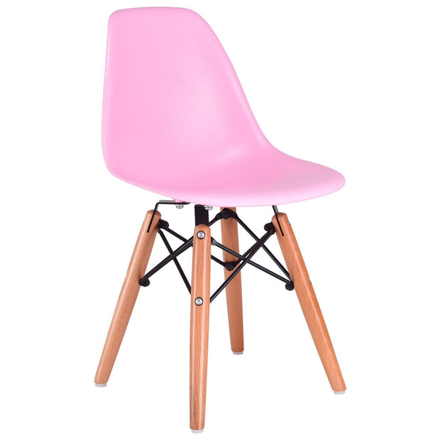 Criss Cross Modern Kids Chair - Pink