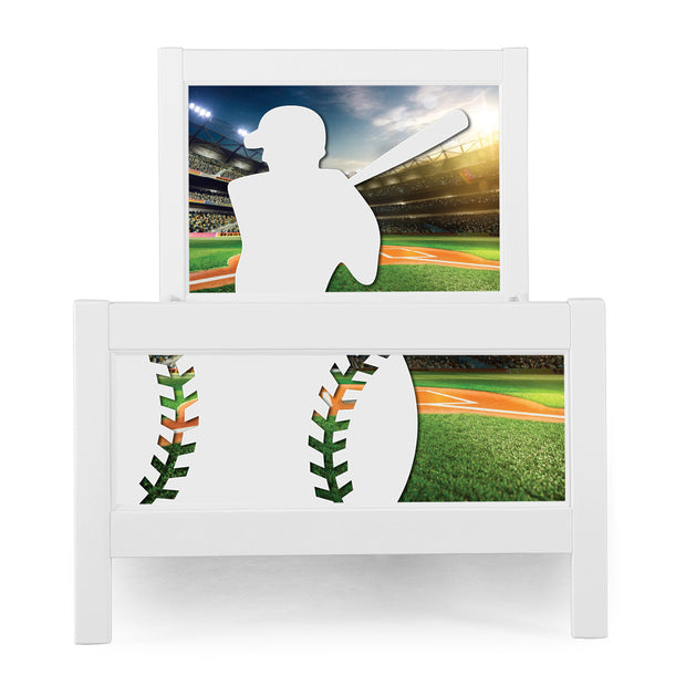 P'kolino Nesto Twin Bed Sports themes available in Baseball, Soccer, Football and Basketball.