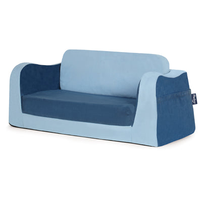P'kolino Little Reader Sofa Lounge - Blue