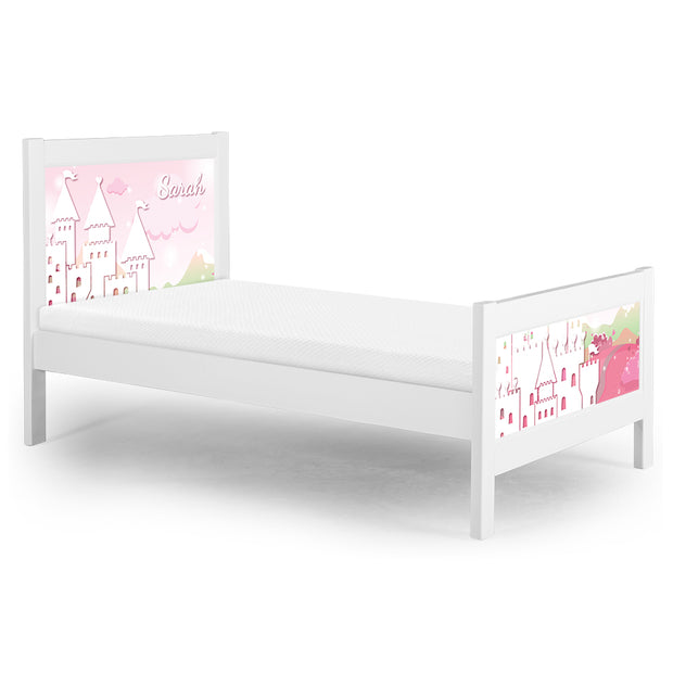 P'kolino Nesto Twin Bed - White - Palace