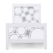 P'kolino Nesto Twin Bed - White - Cerchi