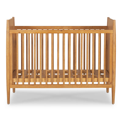 Nova Mid-Century Crib - Natural