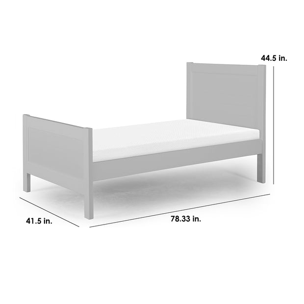 P'kolino Nesto Twin Bed - Grey