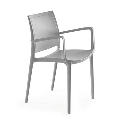 P'kolino Luna Modern Chair with Arms - Grey