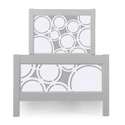 P'kolino Nesto Twin Bed - Grey - Cerchi
