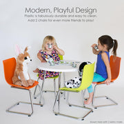 P'kolino Modern Kids Round Table and Chairs