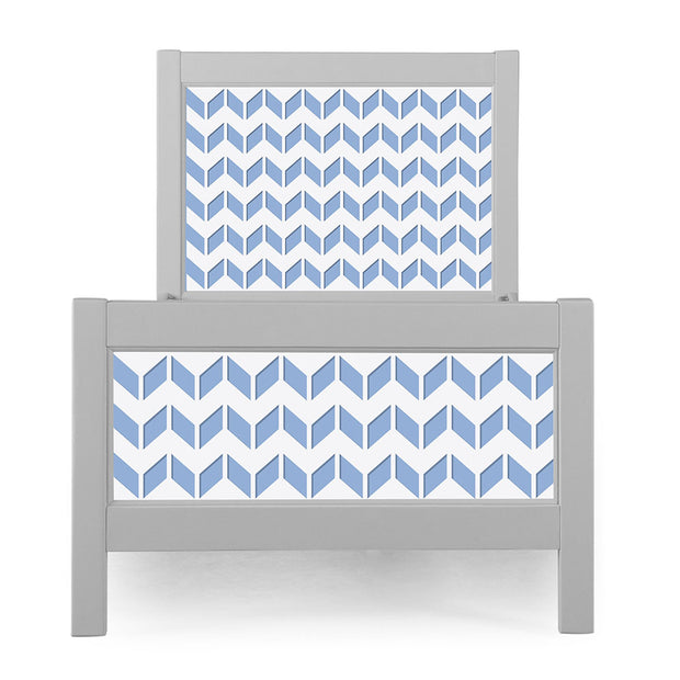 P'kolino Nesto Twin Bed - Grey - Chevron