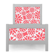 P'kolino Nesto Twin Bed - Grey - Prima in Coral