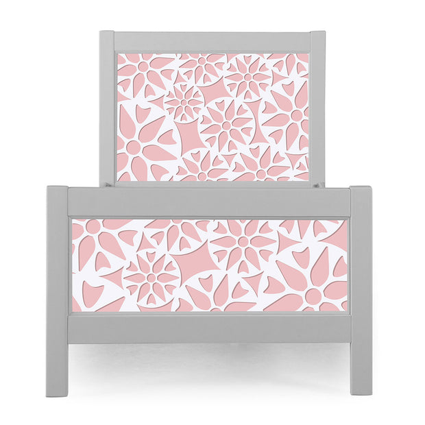 P'kolino Nesto Twin Bed - Grey - Prima in Pink