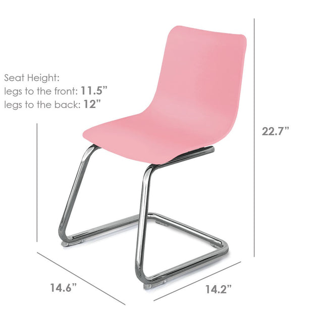Dimensions: P'kolino Modern Kids Chair - Pink