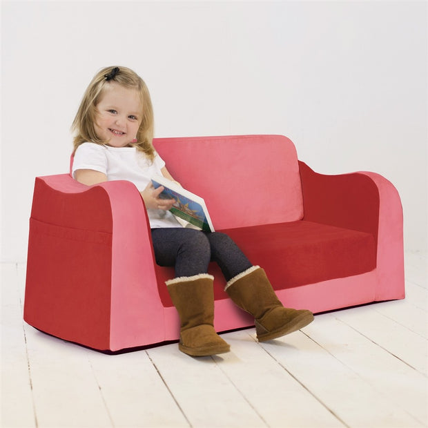 P'kolino Little Reader Sofa Lounge - Red