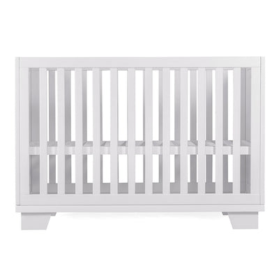 Nesto Convertible Crib - White