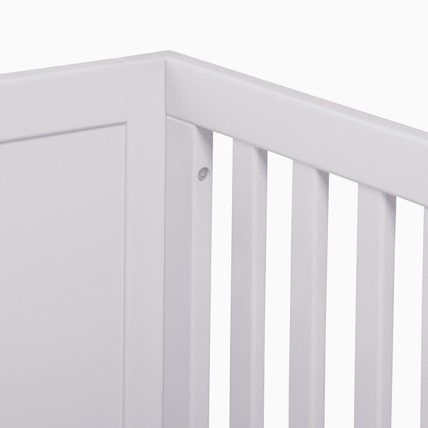 Nesto Convertible Crib - White - Monkeys