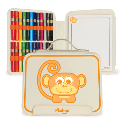 P'kolino Travel Art Set - Monkey