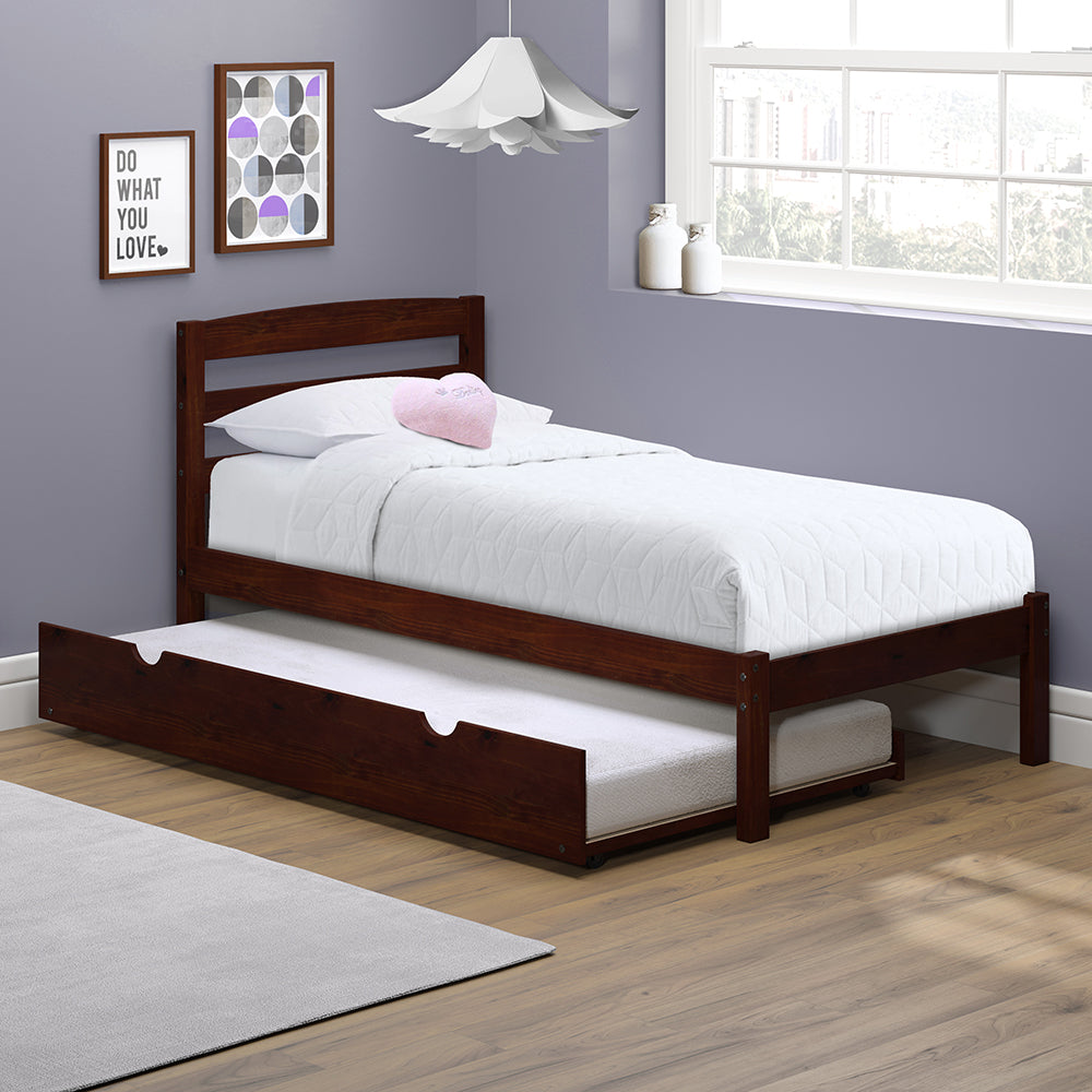 P Kolino Twin Bed With Trundle
