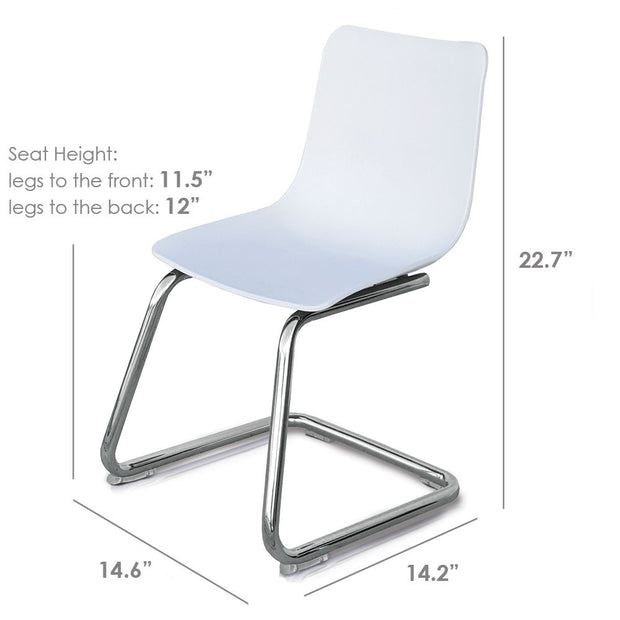 Dimensions: P'kolino Modern Kids Chair - White