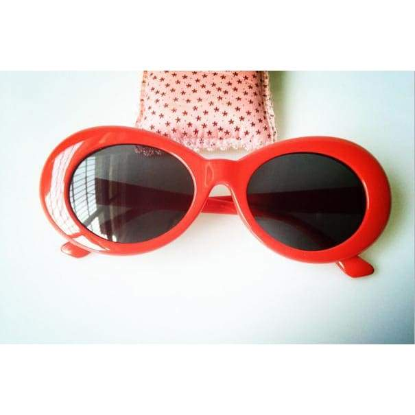 Clout Goggles / Glasses - red