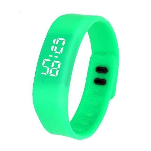Free Fit Digital Watch - green