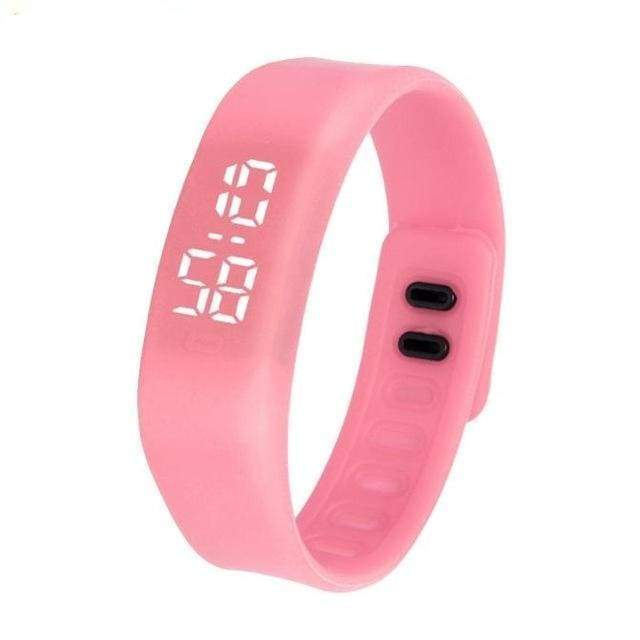 Free Fit Digital Watch - pink