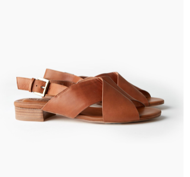 LILA SANDAL - DARK TAN