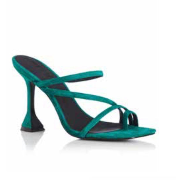 TAMMY - EMERALD SUEDE