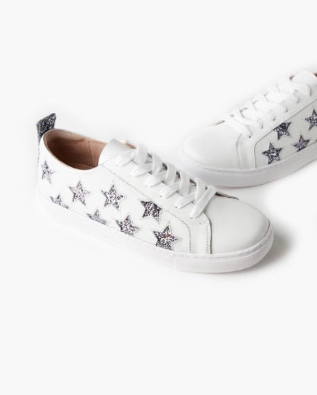 HAVEN LEATHER SNEAKER GLITTER STAR
