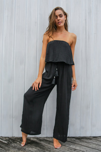 Black Rhea Jumpsuit