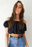 Black Gypsy Top
