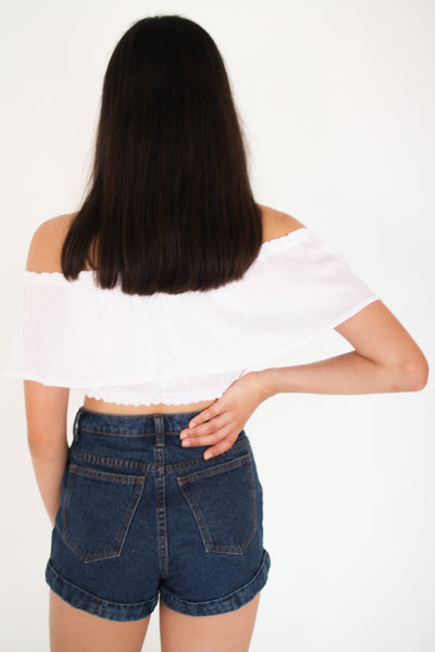 White Layer Gypsy Top
