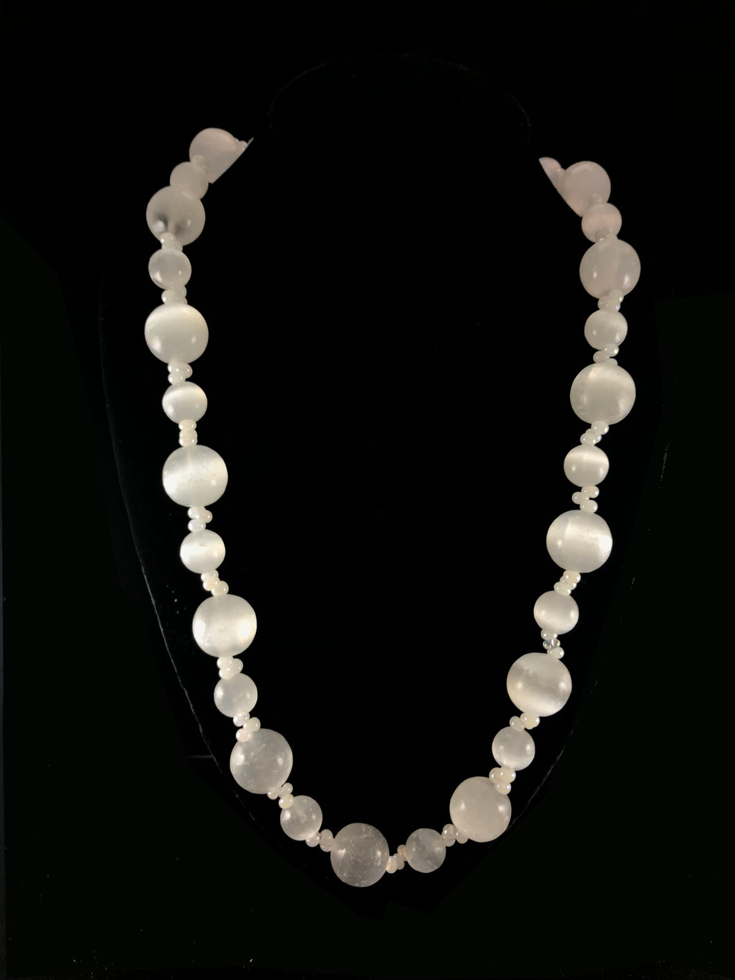 Selenite Necklace