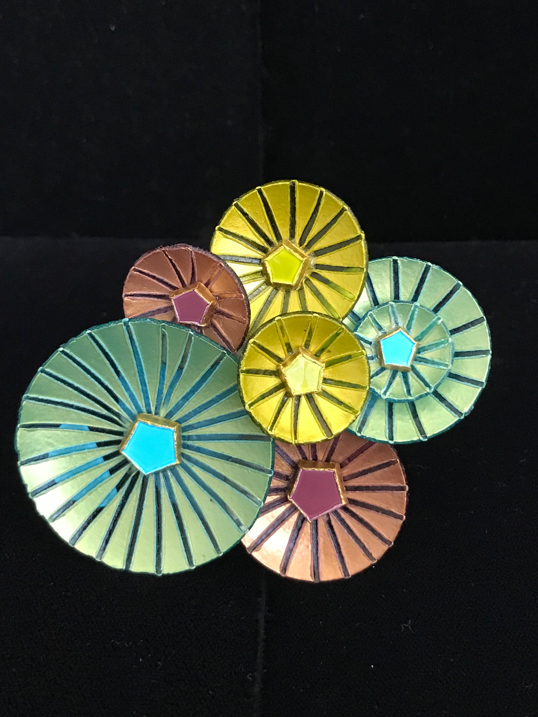 French Resin Umbrellas Magnet