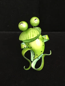 French Resin Frog Magnet