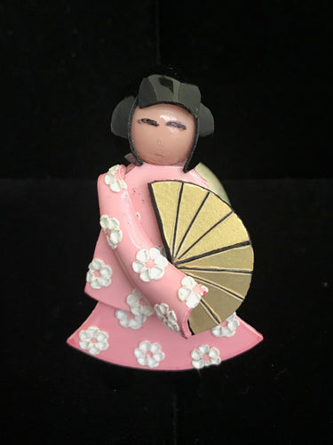 French Resin Geisha Magnet