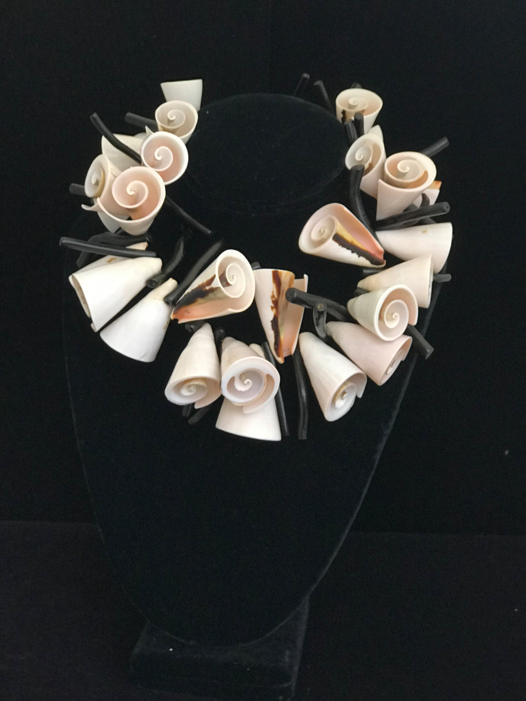 Shells and Coral Necklace