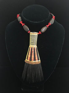 Vintage Samoan Comb Necklace