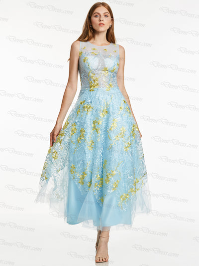 2018 Long Prom Dress A Line Simple Modest Beautiful Cheap Prom Dress # 397546 - DemiDress.com